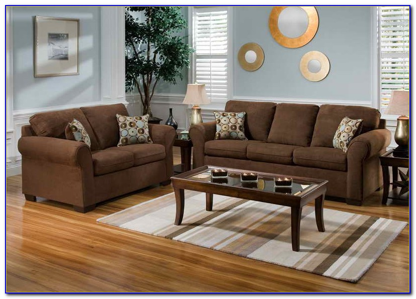 Brown Couches Living Room