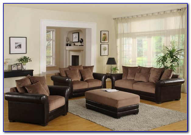 Brown Leather Couches Living Room