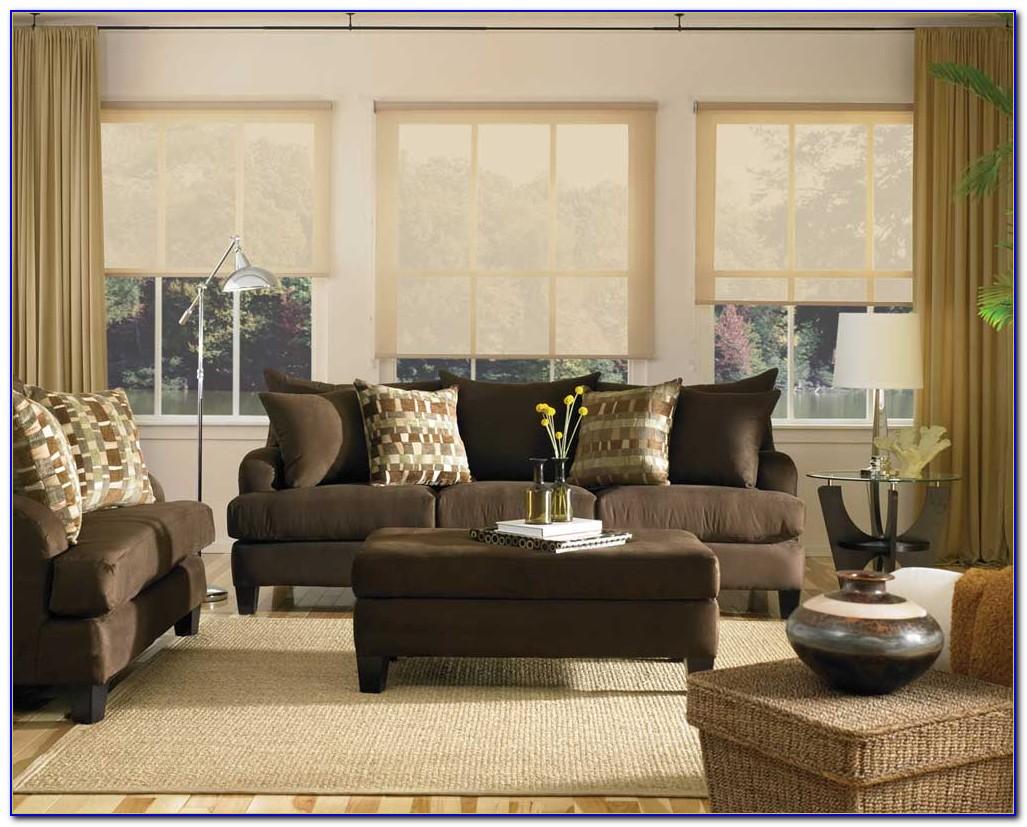 Brown Sofa Living Room Pinterest