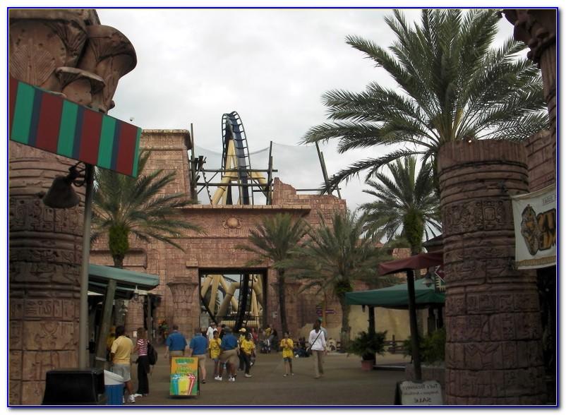 Busch Gardens Tampa Map 2011