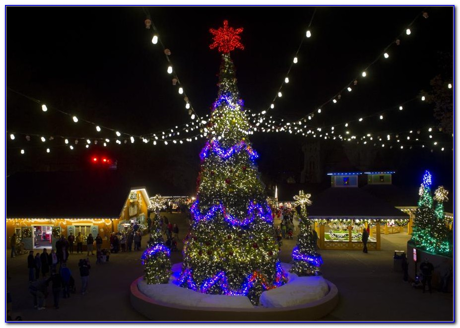 Busch Gardens Williamsburg Christmas Town 2013