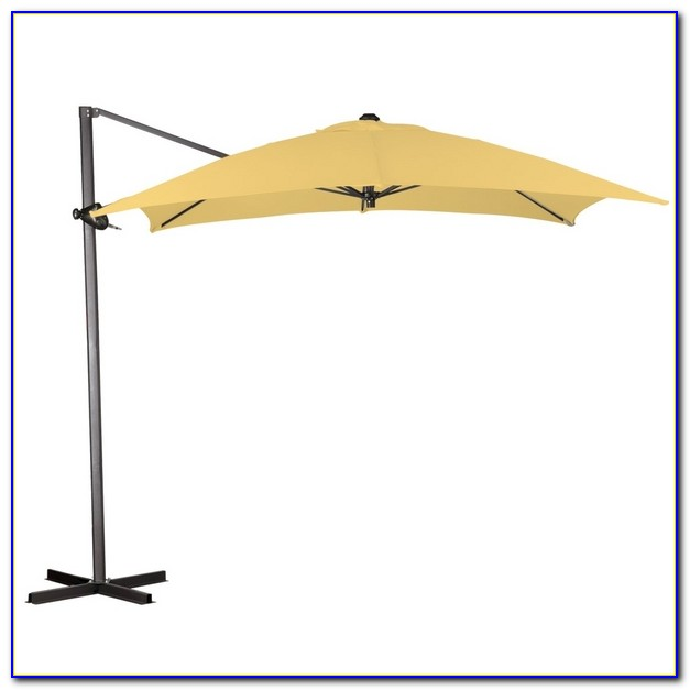 Cantilever Patio Umbrella With Led Lights