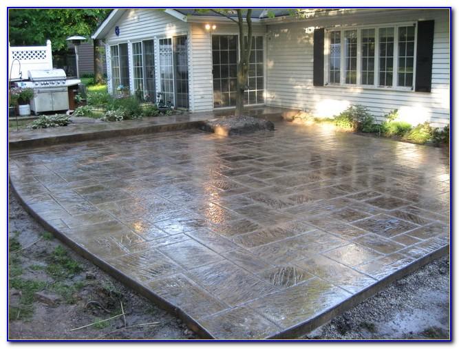 Cement Patio Ideas Pictures