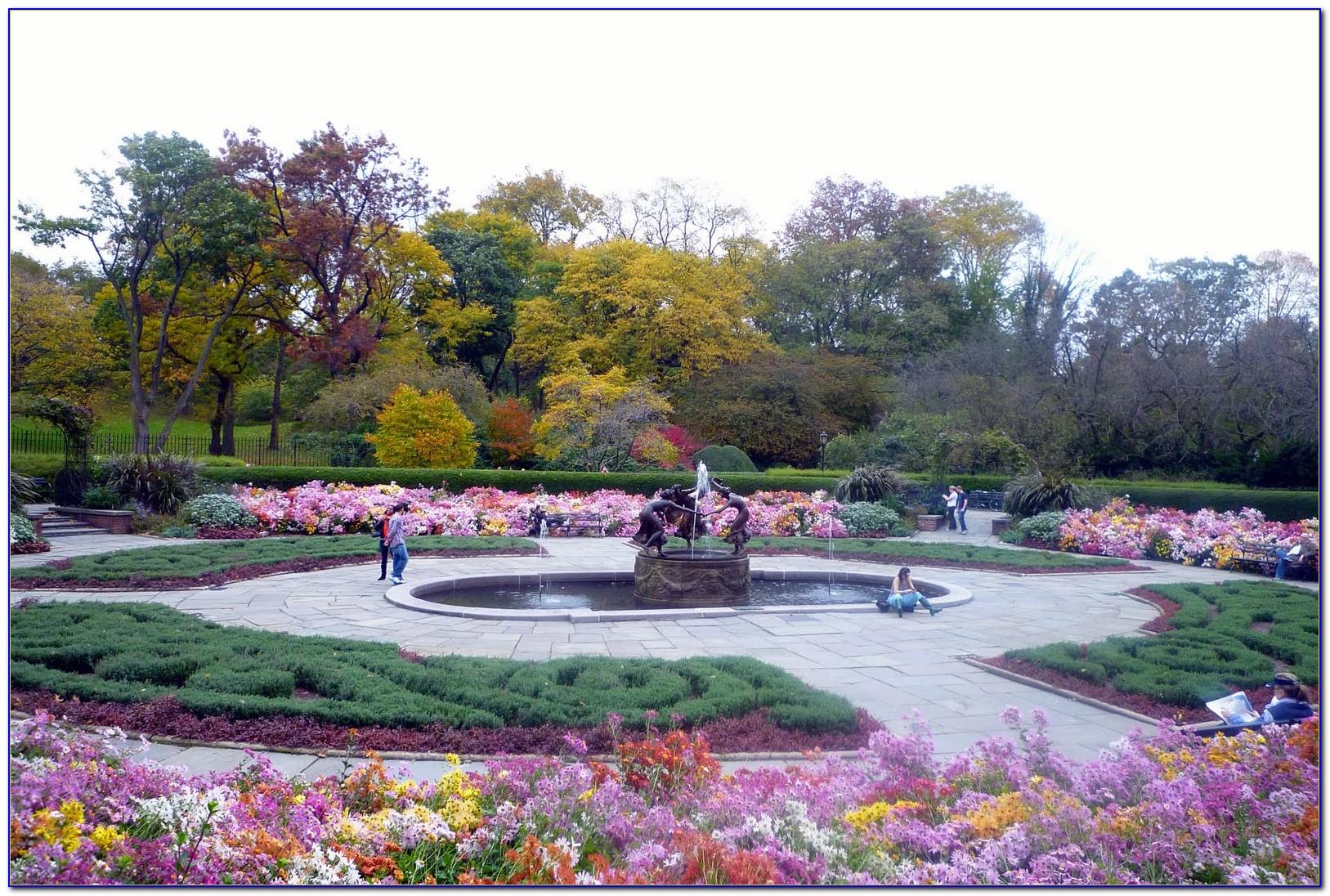 Central Park Conservatory Garden Address