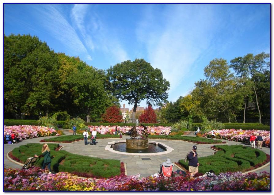 Central Park Conservatory Garden Map