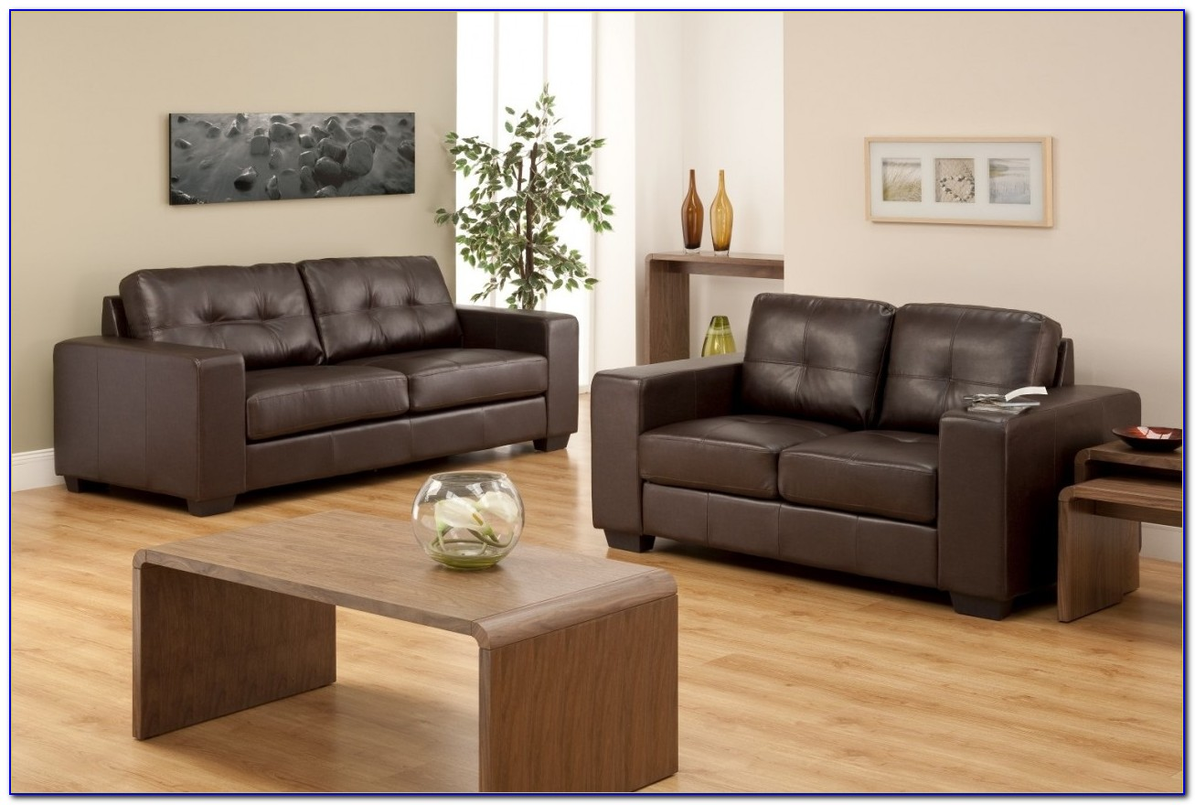 Chocolate Brown Couches Living Room