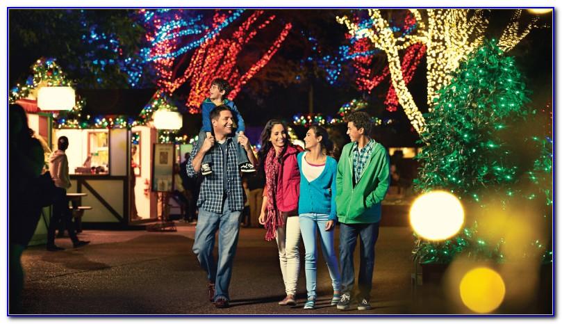 Christmas Town Busch Gardens Tampa 2016