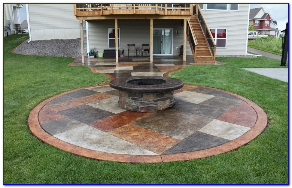 Concrete Patio Ideas Diy
