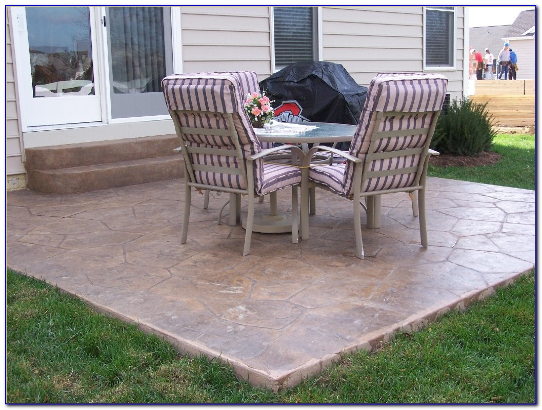 Concrete Patio Ideas Houzz