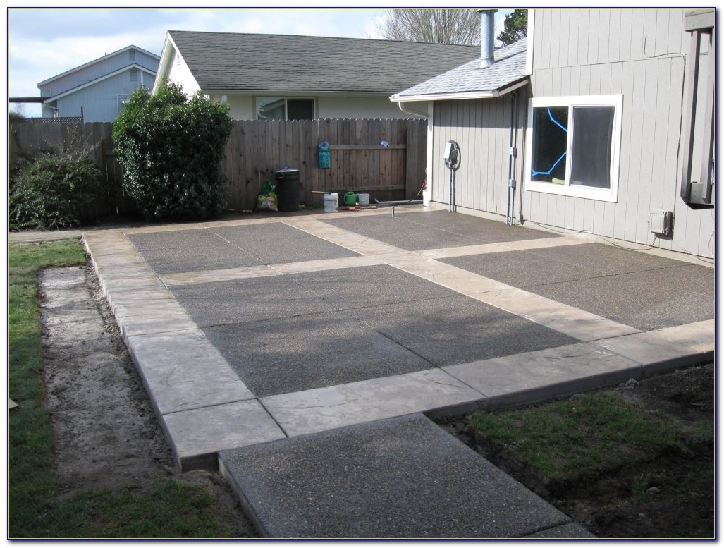 Concrete Patio Ideas Nz