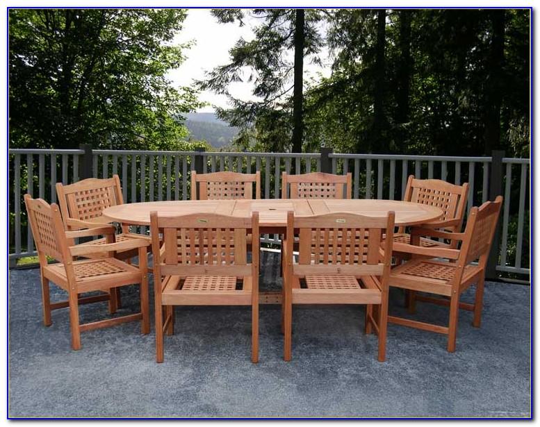 Eucalyptus Patio Furniture Care