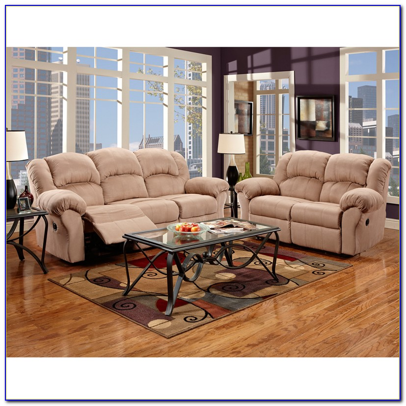 Fabric Reclining Living Room Sets