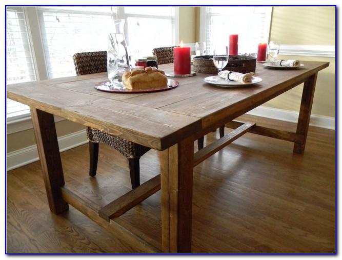 Farmhouse Kitchen Table Legs