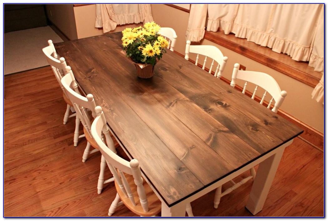 Farmhouse Kitchen Table Plans