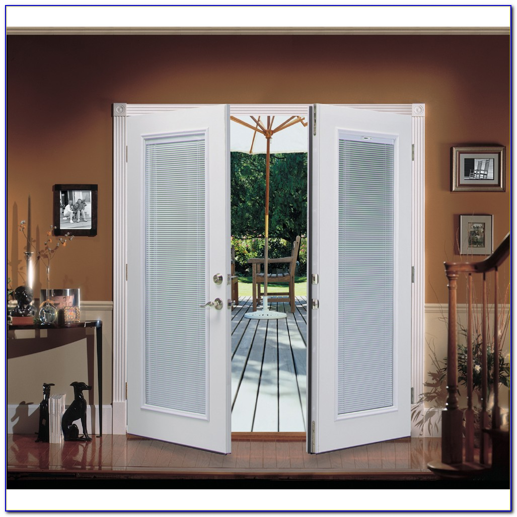 French Patio Doors With Internal Blinds