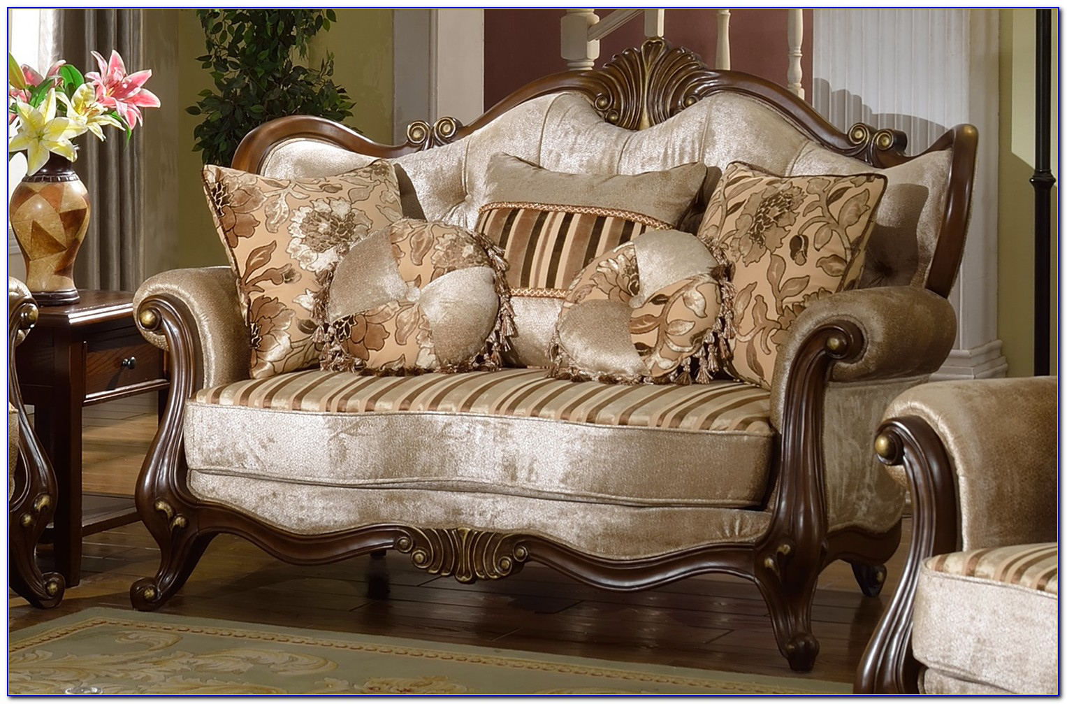 French Provincial Living Room Chairs