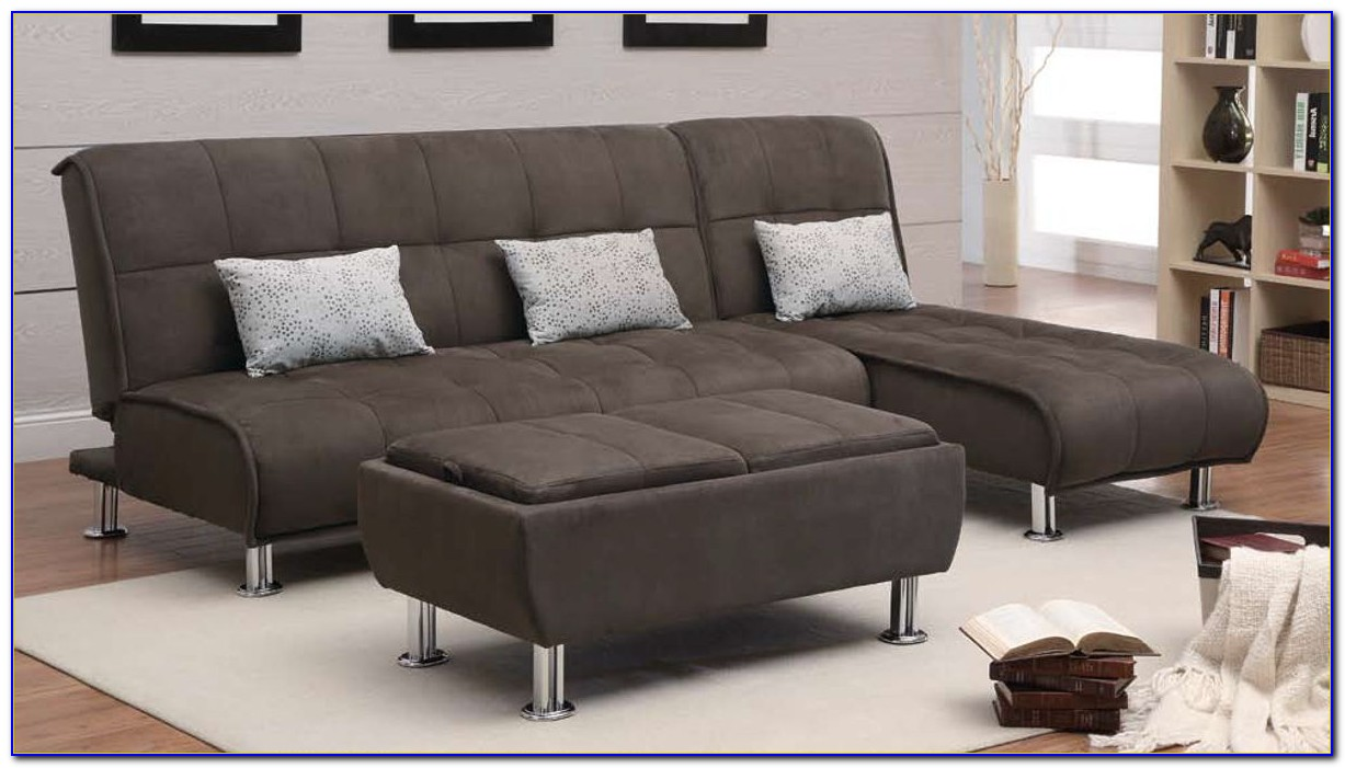 Futon Sofa Bed Living Room Set