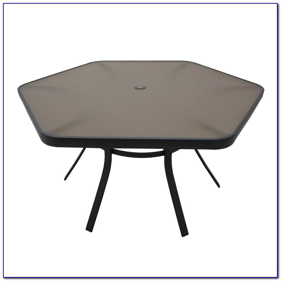 Hexagon Patio Table Set