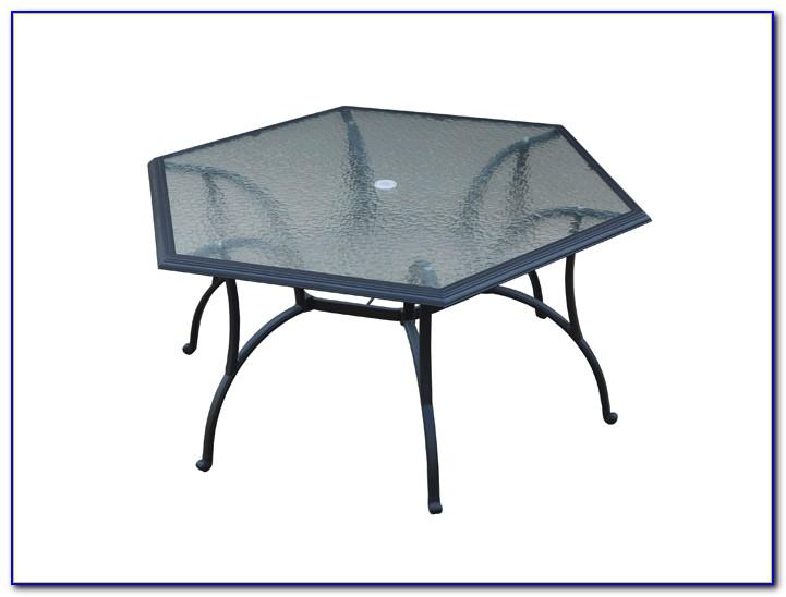 Hexagon Patio Tablecloth