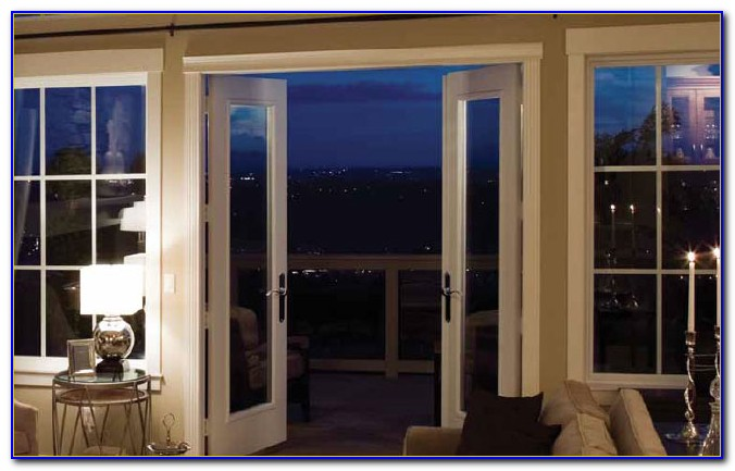 Hinged Patio Doors With Screen