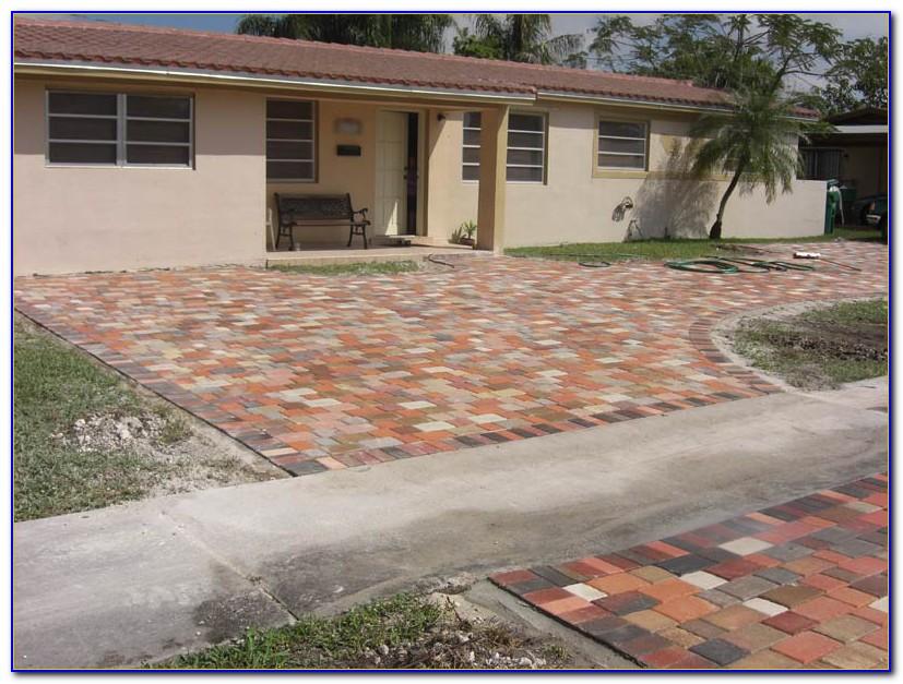 Install Paver Patio Over Concrete