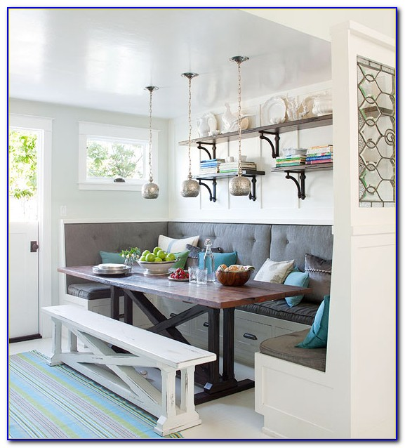 Kitchen Banquette Seating With Storage