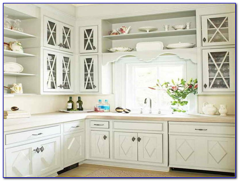 Kitchen Cabinet Hardware Placement Ideas