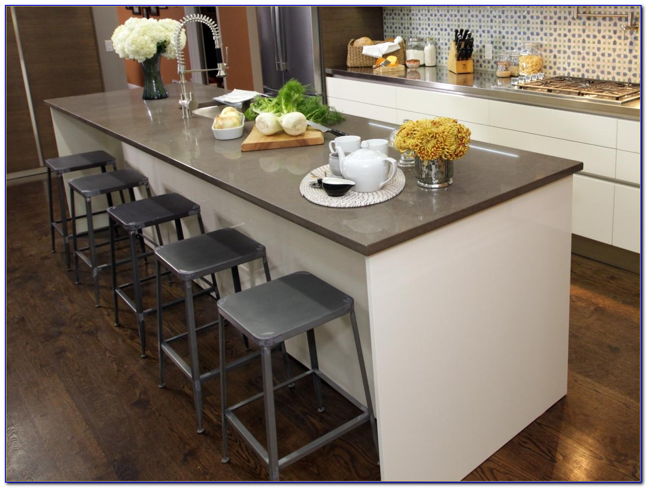 Kitchen Island With Stools Amazon