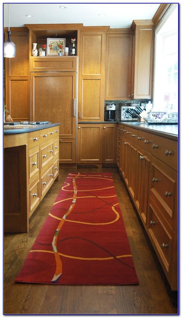 Kitchen Runner Rugs Black