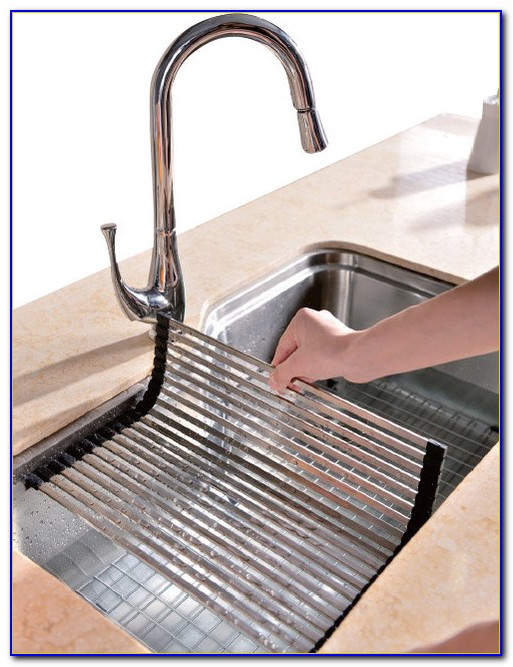 Kitchen Sink Mats Racks
