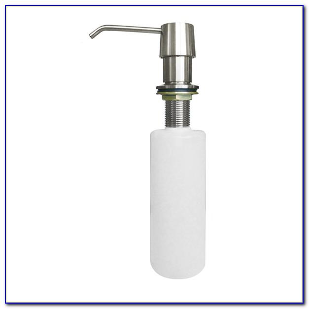 Kitchen Sink Soap Dispenser Hole Size