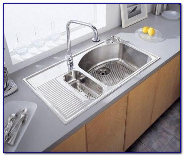 Kitchen Sink With Drainboard Undermount