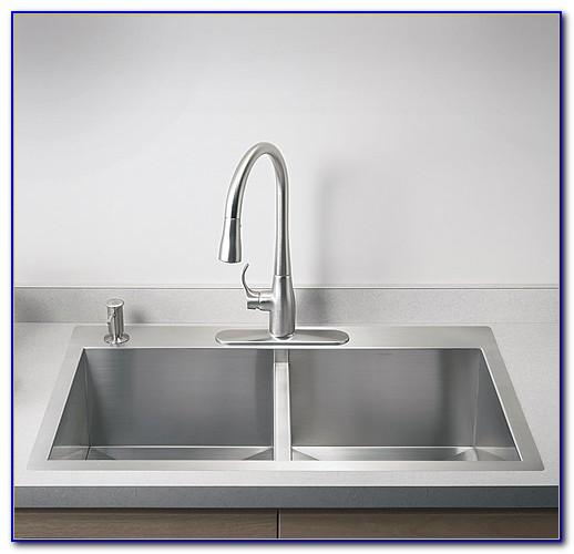 Kohler Kitchen Sinks Stainless Steel