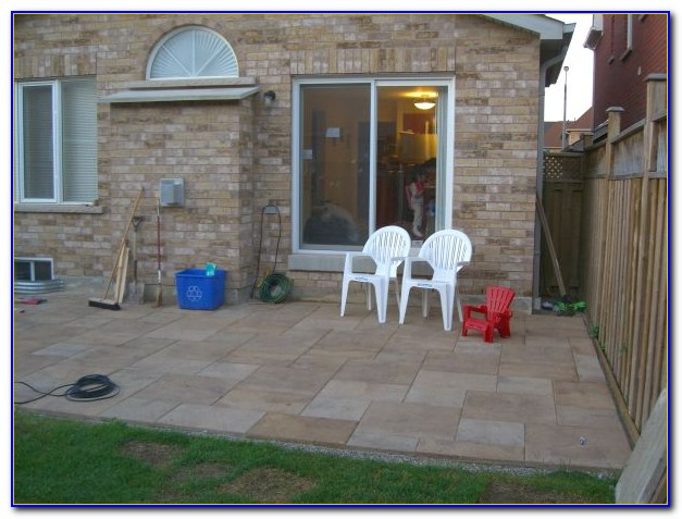 Laying Patio Pavers On Gravel