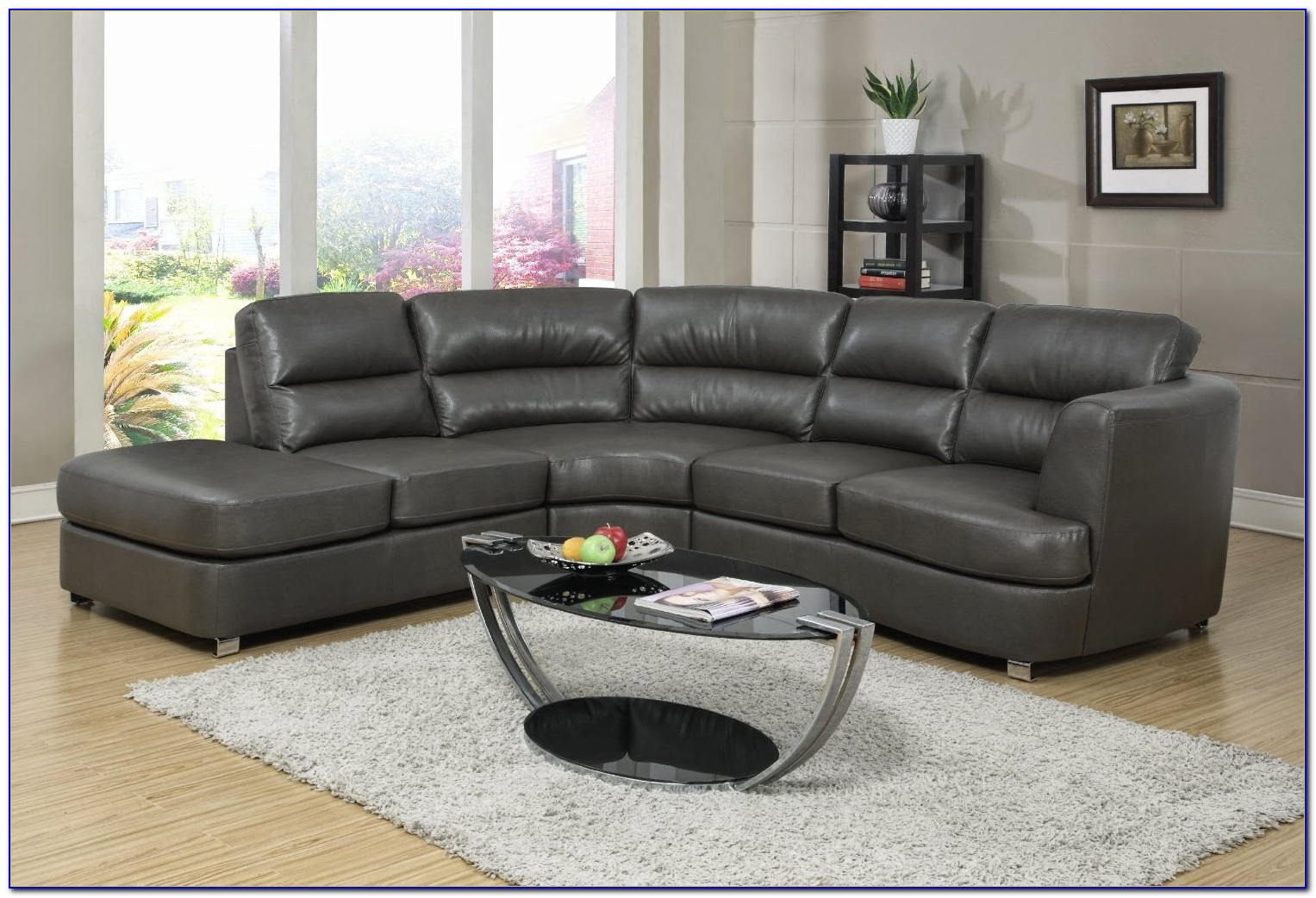 Leather Living Room Furniture Sectionals