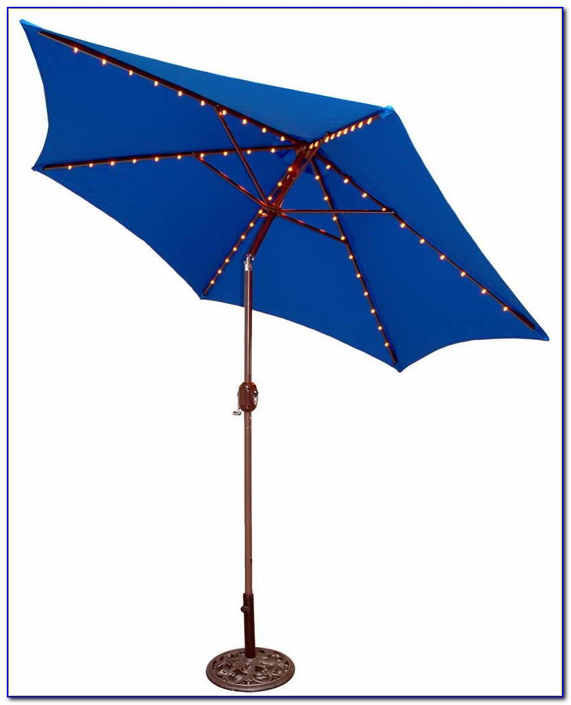 Lighted Patio Umbrella Target