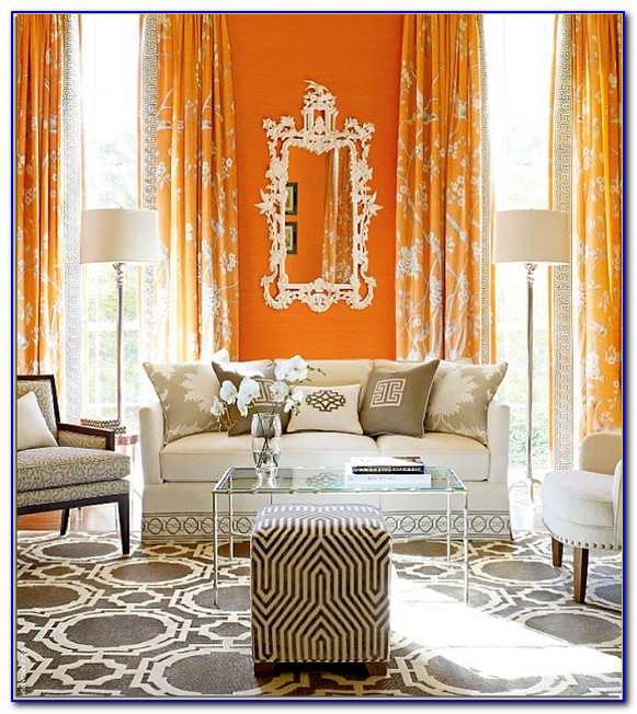 Living Room Curtain And Rug Sets