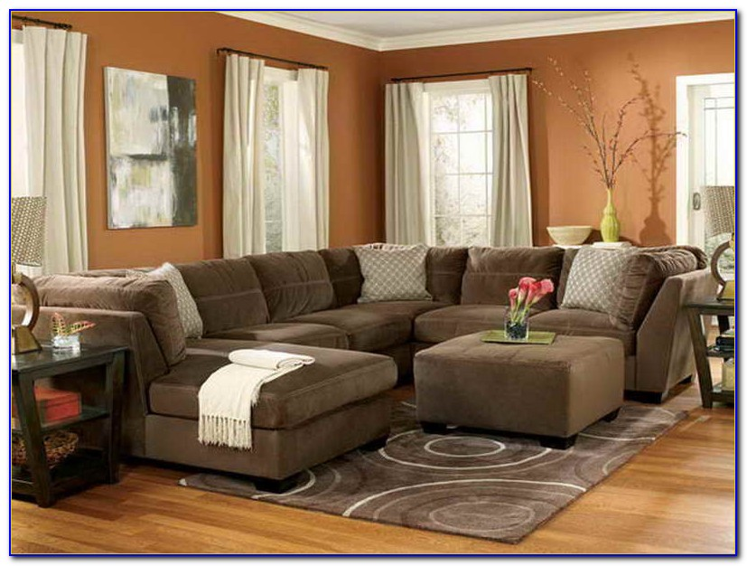 Living Room Red Couch Ideas