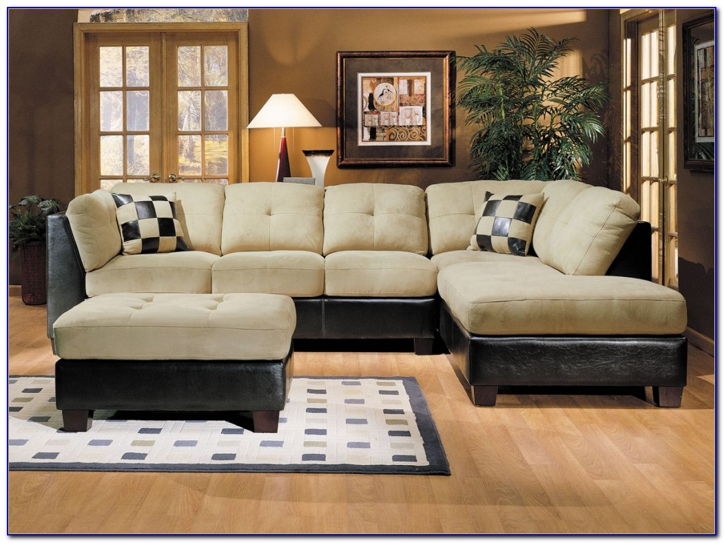 Living Room Sectionals Leather