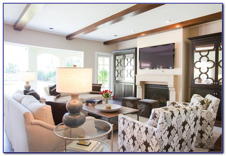 Living Room Storage Armoire