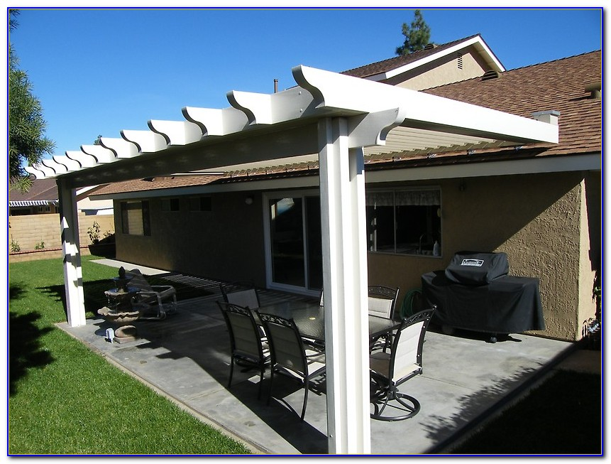 Louvered Patio Covers California