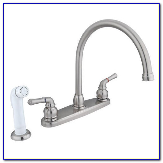 Menards Brushed Nickel Kitchen Faucets