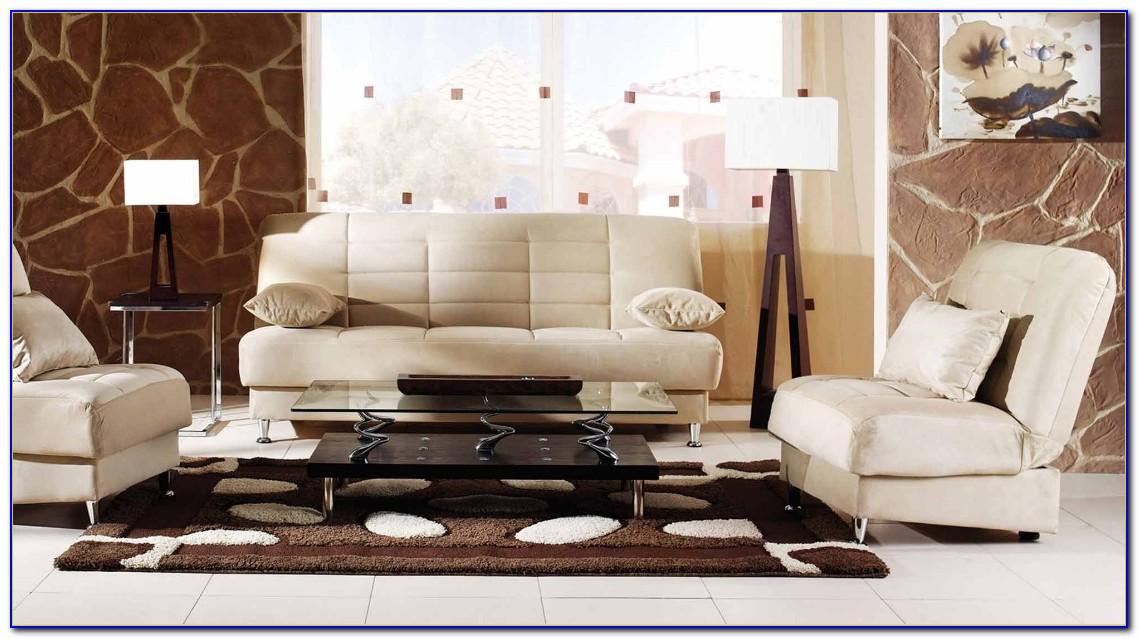 Microfiber Leather Living Room Set