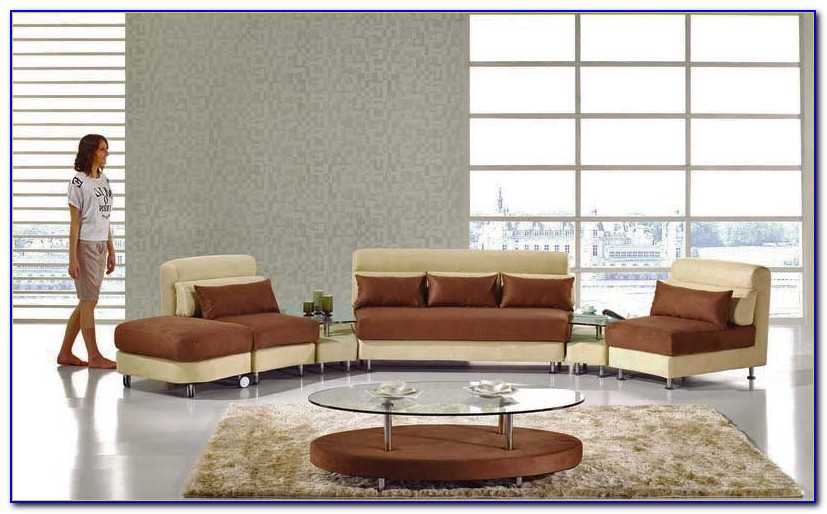 Microfiber Sectional Living Room Sets