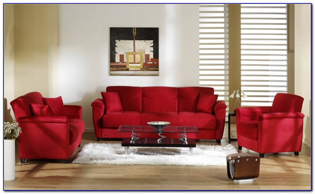 Microfiber Suede Living Room Sets