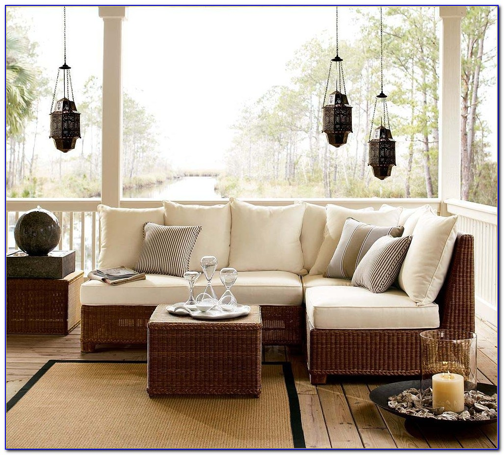 Modern Rattan Living Room Furniture