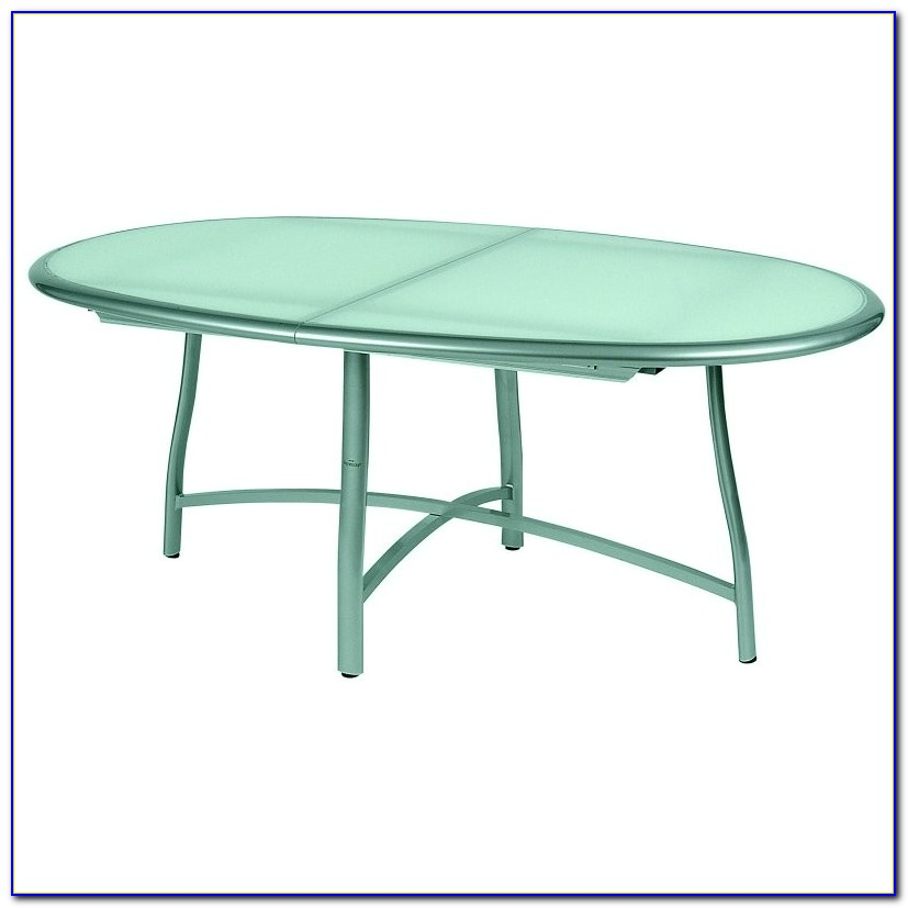Oval Patio Table Set