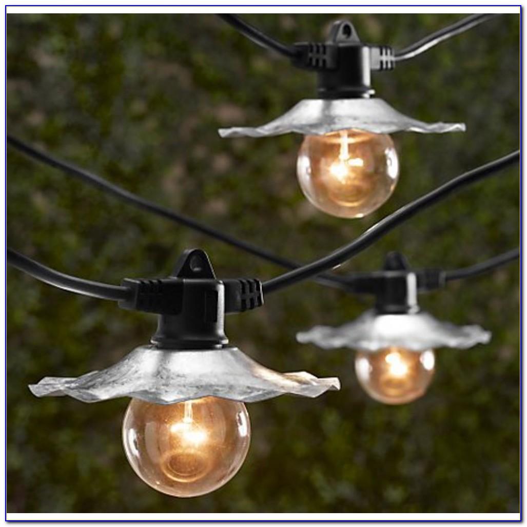 Patio Light String Ideas
