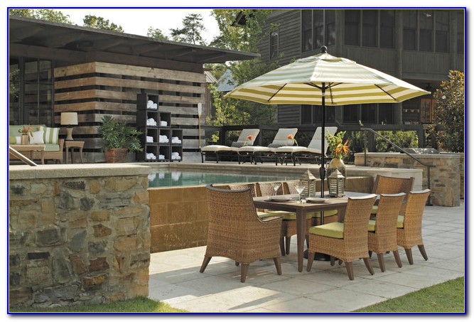 Patio Set With Umbrella Canada