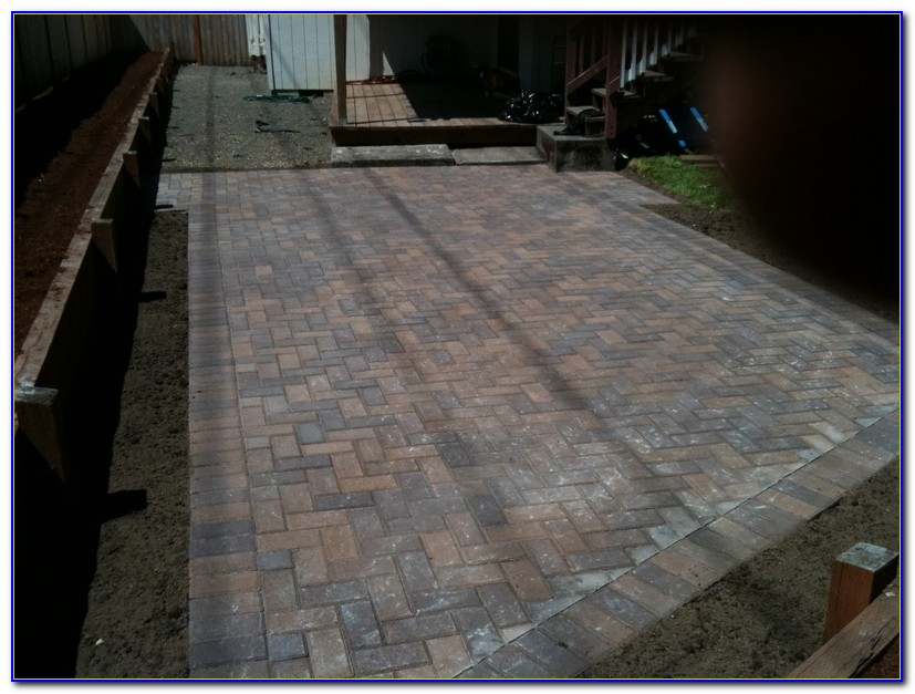 Paver Patio Installation Video